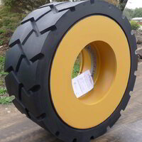 Solid Mining Wheel