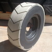 White Rubber Retreaded Floor Sweeper Tyre