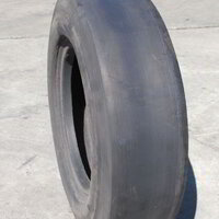 Forklift Tyre with Slick Tread