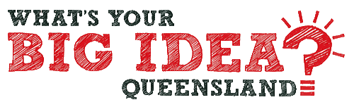 What's Your Big Idea Queensland? logo