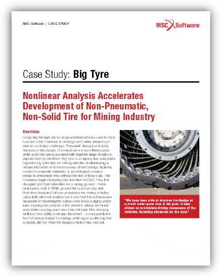 Case study by MSC Software