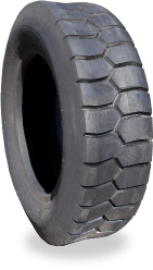 Retreaded forklift tyres