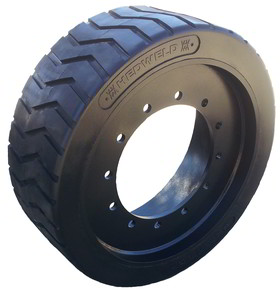Solid rubber wheel manufactured by Big Tyre